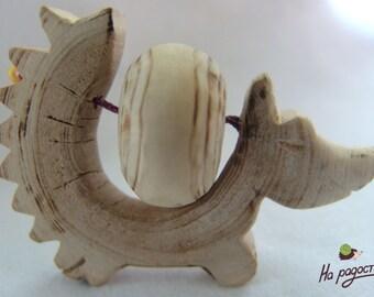 Tactil Toy Hedgehog for joy