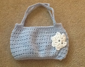 Crochet kids purse