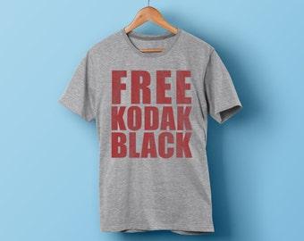 FREE KODAK BLACK shirt - Kodak Black Shirt Gray - Free Kodak Shirt