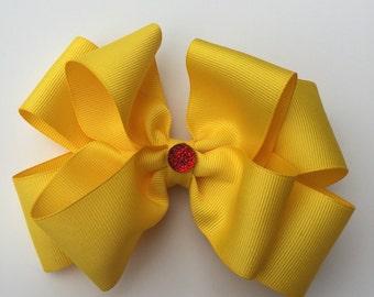 Yellow Big Bow
