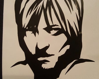The Walking Dead Daryl Dixon Decal