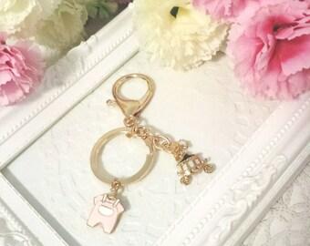 Adorable Baby Keychain | Gift | New born | Celebration