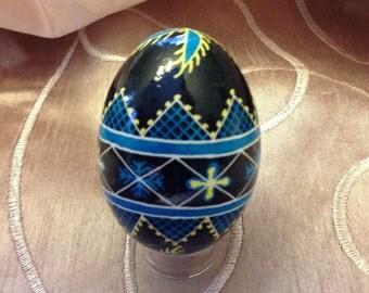 Ukrainian egg~hand painted pysanky~handmade~Easter eggs