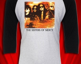 Sisters of Mercy Vintage Tee Tour Concert Jersey 1991