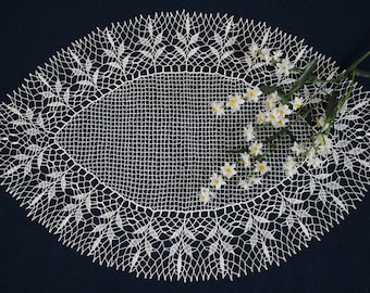 crochet doily, lace doily, tablecloth