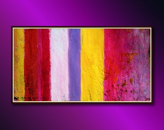 Large abstract painting art: Original abstract painting ready to hang, Large original modern painting canvas art absract modern art original