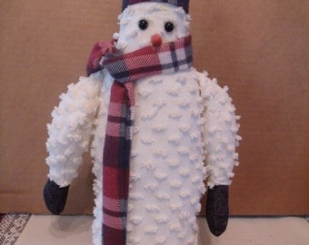 Hand made Snowman decoration, (# 126/8)