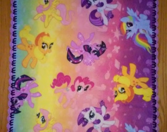 Items similar to fleece fabric my little pony tinkerbell for Solar system fleece fabric