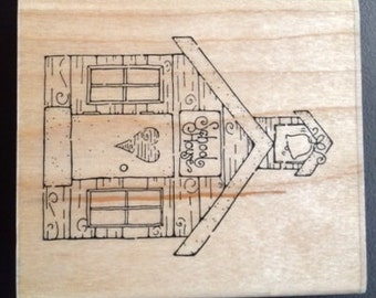 School House stamp by CTMH