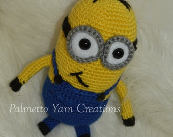 Crochet minion dolls
