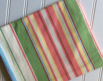 Michael-Miller-Fabric-By-The-Yard-Creamscile-Pastle-Stripes-Cotton-Quilting-Fat-Quarters-Sewing-DIY-Projects-Crafts-Supplies