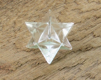 Natural Crystal Quartz Markaba Star