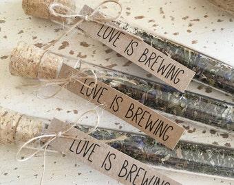 Love Is Brewing Tea Leaf DIY Favour Kit Pk20