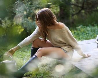 Sweater Hemplution Classic Woman 100% HEMP, women's hemp clothing