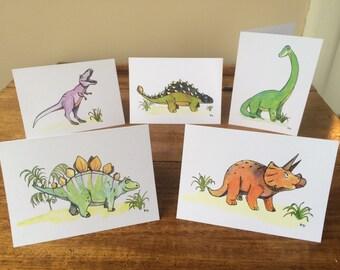 Dino Greeting Cards