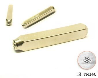 1 PCs design stamp flower punch hallmark 3 mm