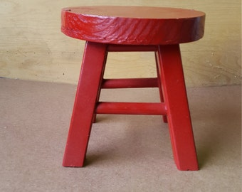 Little Red Stool