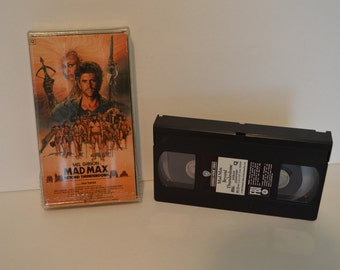 MAD MAX Beyond Thunderdome VHS
