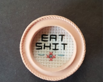 Small Cross Stitch Magnet