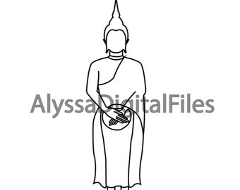 Buddha Pose - Wednesday Morning- Southeast Asia