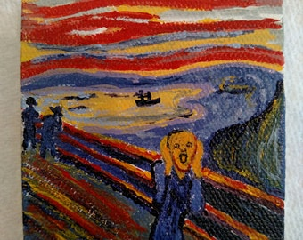 The Scream -Edvard Munch