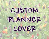 Custom cover set for Erin Condren planners & notebooks, Happy Planners, Recollections Planners, and Plum Paper Planners