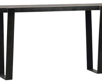 industrial sofa table/ console table