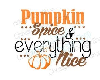 Pumpkin SVG / Halloween SVG / Autumn SVG / seasons svg / Pumpkin spice svg / vinyl crafts / pumpkin clipart/ Halloween clip art