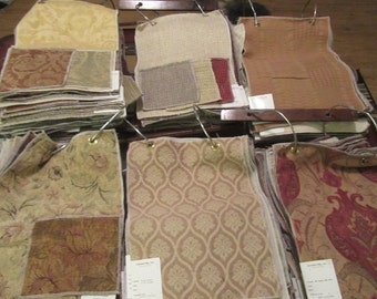Huge Lot Cavalier Fabric Samples finest upholstery Silk/rayon/wool/poly 18 x 13