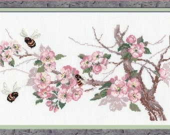 Riolis Counted Cross Stitch Kit Breath of Spring R635