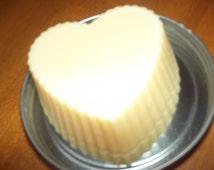 Heart shaped Handmade Lotion Bar