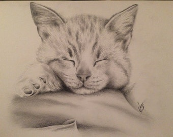 A4 Pencil sketch (example)
