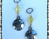 Hearing Aid Charms:  Silver Sand Dollar!