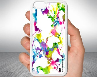 "Cell phone case ""world map"""