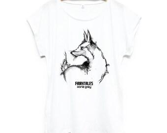 Fox fairy - female shirt