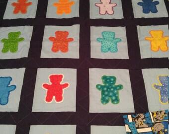 "Toddler quilt 49""L x 35""W"