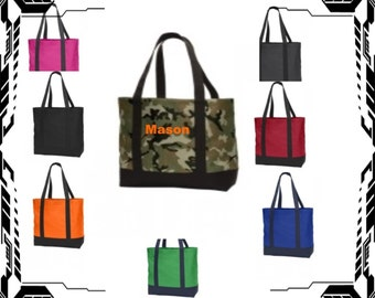 FREE SHIPPING Day Tote Embroidered