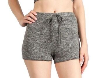 Knit Tie Waist Shorts