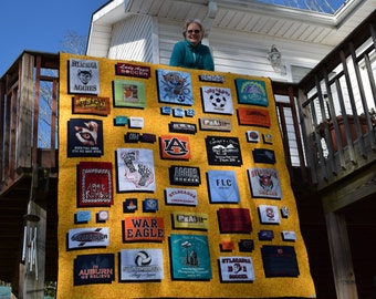 Special order Tee Shirt Quilt, your shirts in queen, full, twin