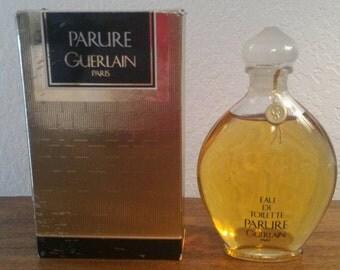 Parure by Guerlain. 3.3oz edt. New sealed bottle