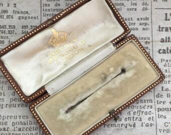 A Vintage Asprey Brooch/Pin Case