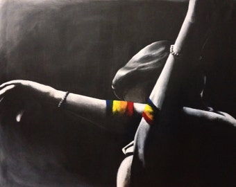 Pride, acrylic painting prints