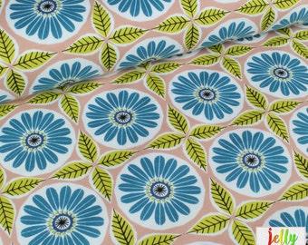 ORGANIC Cotton Interlock KNIT Fabric - Ceramic from Anya collection by Monaluna - UK Seller