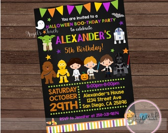 Halloween Party Invitation, Halloween Birthday Invitation, Halloween Birthday Party Invitation, Halloween Custome Party,  Digital File