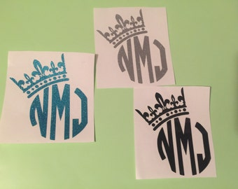 Initials w/ Crown