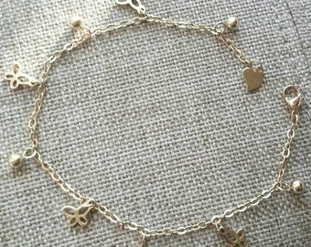 Pretty Lil Things Gold Anklet
