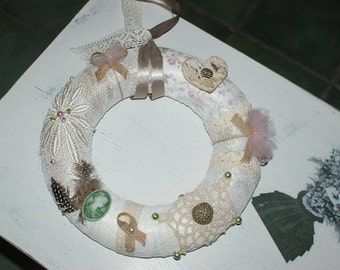 Wreath Shabby Chic (1)