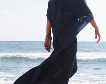 NAVY BLUE Kaftan, Long Dress