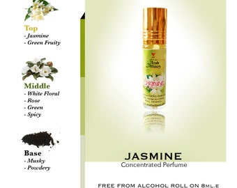 JASMINE PERFUME OIL 100% concentrated