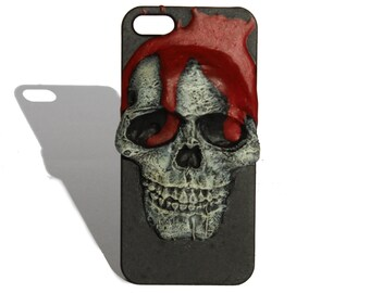 Iphone 5/5s Dripping Blood Skull Case